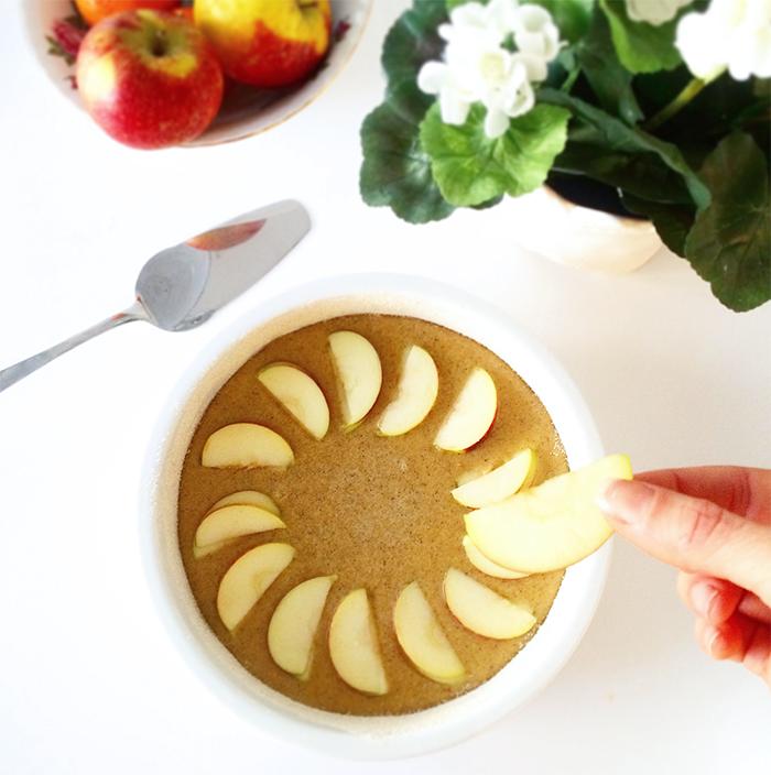 Äppelkaka LCHF 2