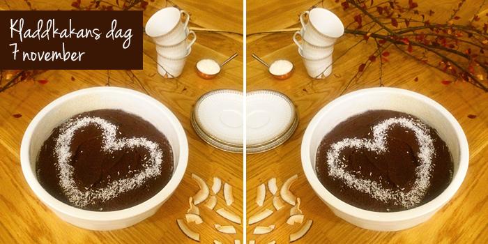 Kladdkaka på kokosmjöl