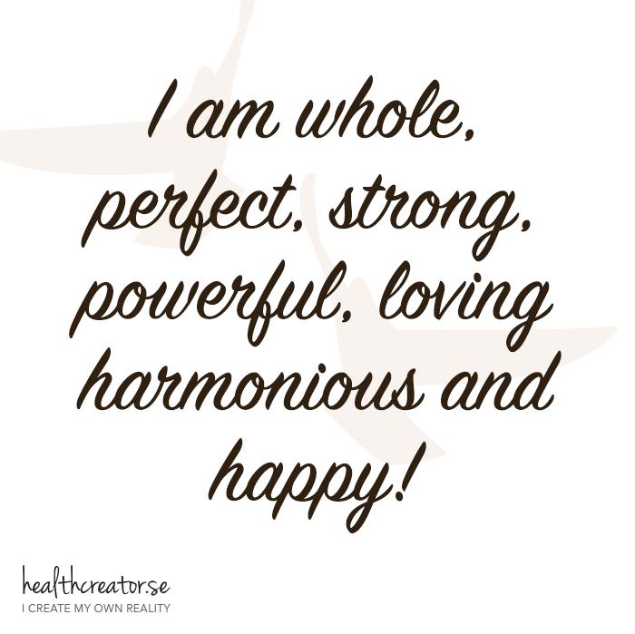 I am whole