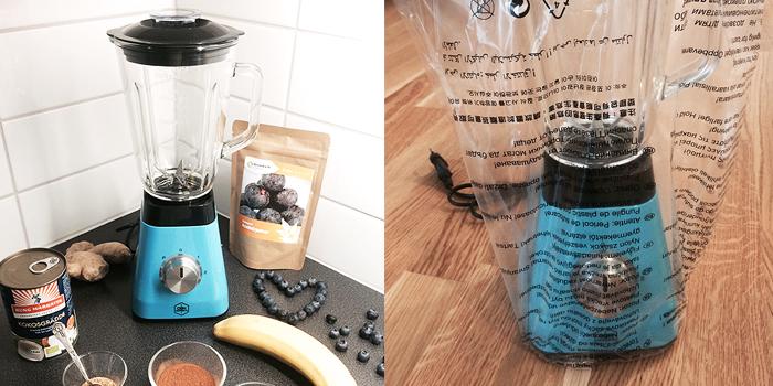 Ny dag - ny färgglad blender/mixer - OBH Nordica