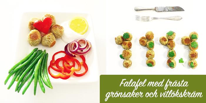 Healthcreators Falafel - Vegan och glutenfritt