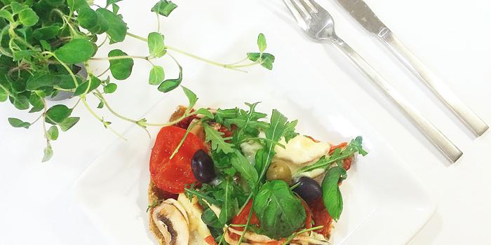 Vegopizza - Vegetarisk pizza - Paleo, LCHF och Glutenfritt
