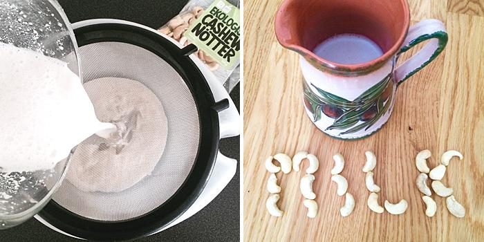 Cashewmjölk på 3 minuter - laktosfri