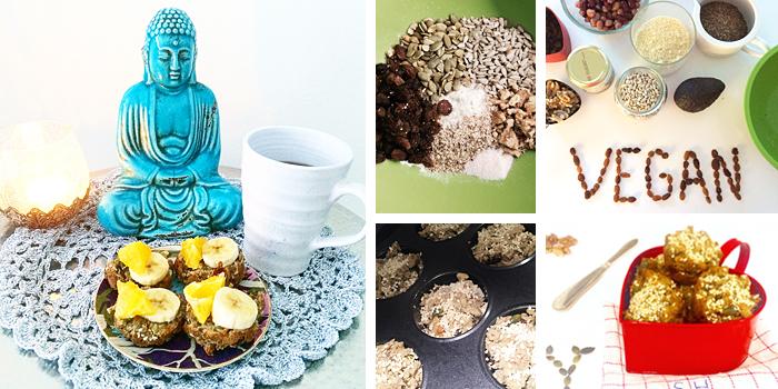 Bön och avokadobröd - glutenfritt, paleo och vegan