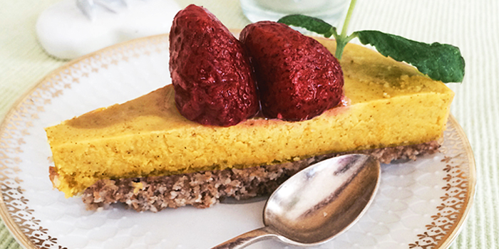 Saffranskaka - rawfood