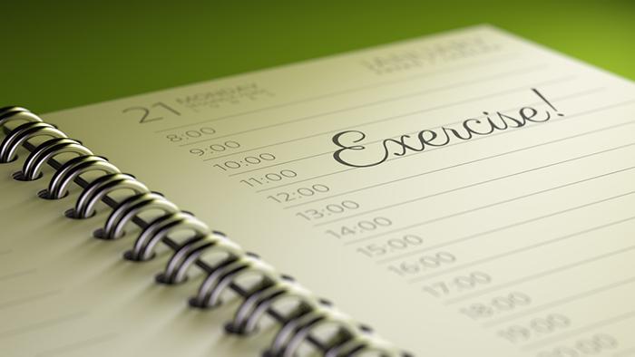 Juni-utmaningen - gör ett träningsschema
