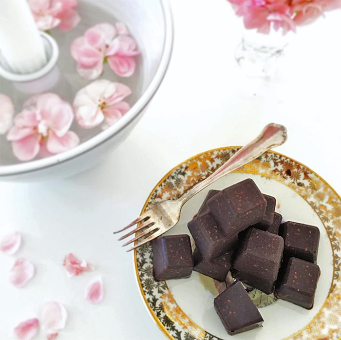 hemmagjord choklad mjölkfri lowcarb rawfood vegan