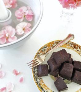 Hemmagjord vegansk choklad - rawfood.