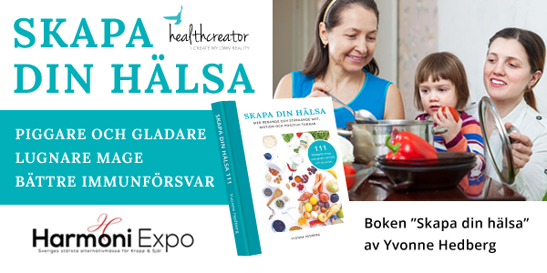 skapa din halsa harmoni expo Yvonne Hedberg healthcreator