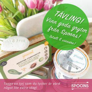 spoons tavling i samarbete med healthcreator