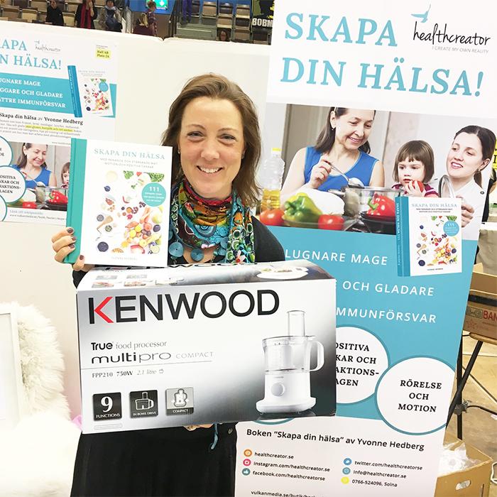 healthcreator skapa din hälsa vinnare lotteri kenwood