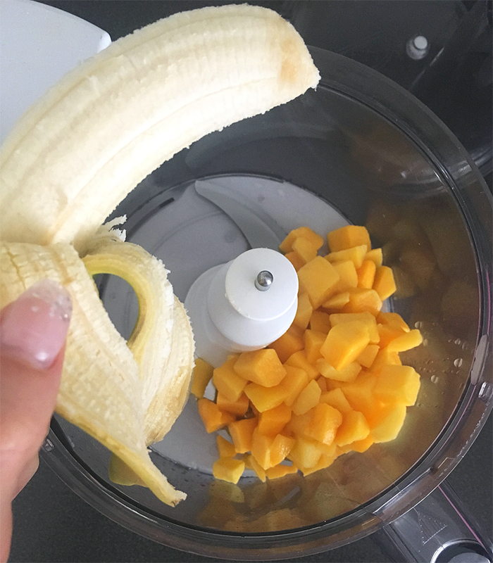 mango parfait påsk vegan tillagning