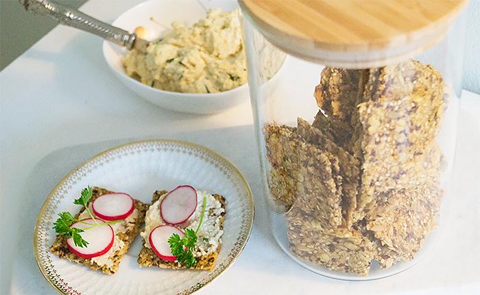 glutenfritt havreknäcke i glasburk