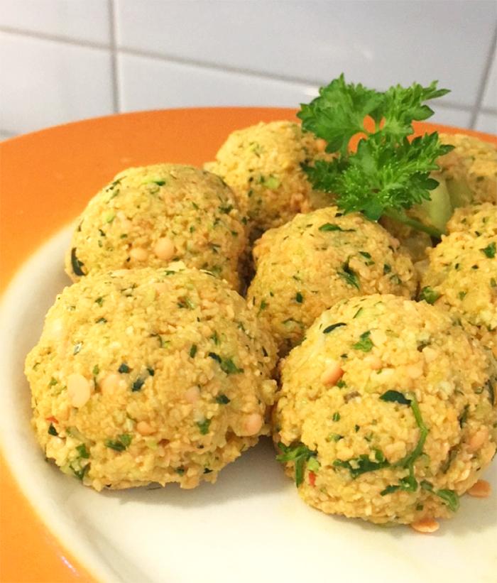 indiska linsbullar glutenfria vegan