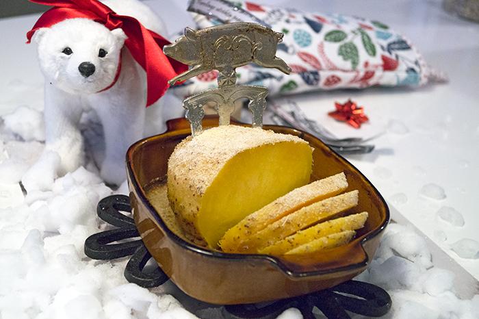 griljerad kålrot istället för julskinka vegan