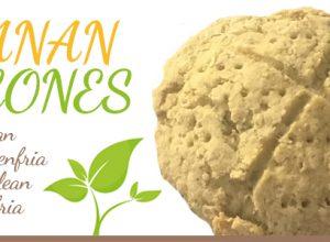 bananscones glutenfria vegan eatclean nötfri