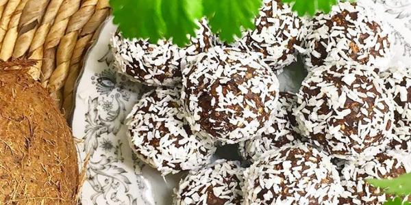 chokladbollar glutenfria eatclean vegan