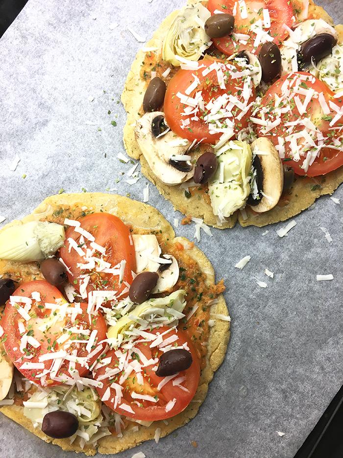 kikärtspizza vegan glutenfri