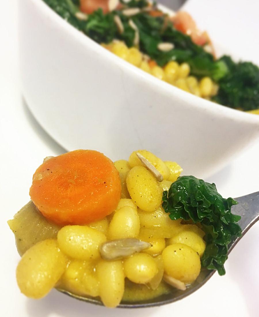 currygryta vita bönor vegan