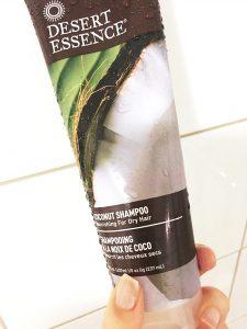 kokos desert essence schampoo