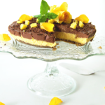mango choklad cheesecake vegan raw