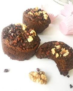 chokadmuffins avokao glutenfri vegan