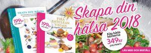 Rea på kokboken Skapa din hälsa och kakboken Fika eatclean vegan av Yvonne Hedberg