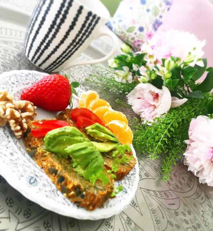 Morot- och sötpotatislimpa - glutenfri och vegan