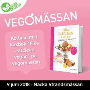 vegomassan 2018 fika eatclean vegan healthcreator