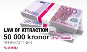 50 000 kronor i månaden affirmationer