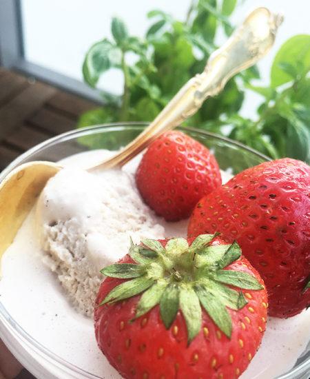 vaniljglass kolasmak vegan