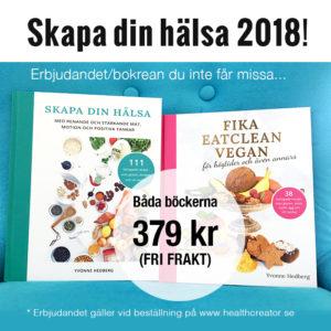 rea bokpaket skapa din hälsa fika eatclean vegan