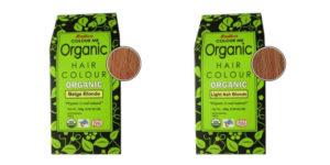 2 förpackningar med hårmedlet radico colour.