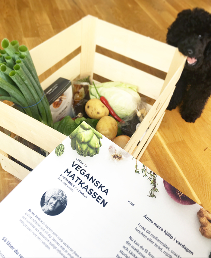 veganska matkassen årstiderna