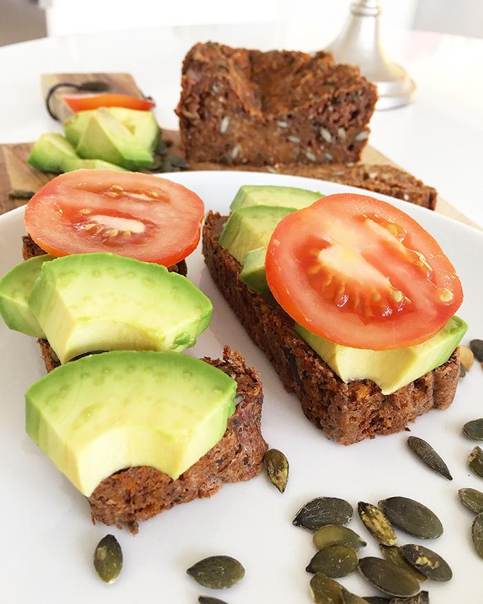sötpotatisbröd glutenfritt vegan