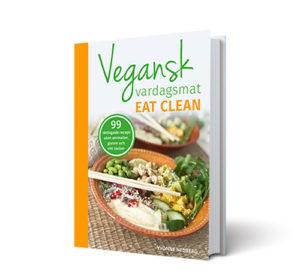 Bild på kokboken Vegansk vardagsmat eatclean av Yvonne Hedberg