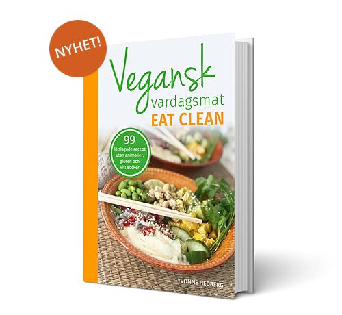 Bild på kokboken vegansk vardagsmat - eat clean