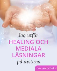 Bild på händer som förmedlar healing