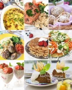 Foto på bilder från recept ur kokboken Vegansk vardagsmat - eat clean av Yvonne Hedberg.