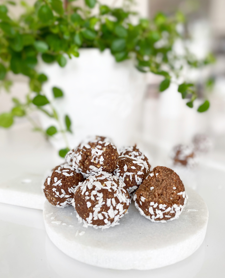choladbollar eatclean vegan glutenfria