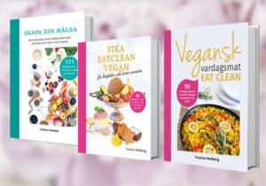 Kokböcker av Yvonne Hedberg - Vegansk vardagsmat - eat clean.