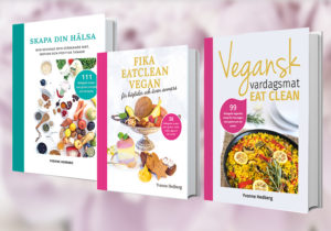 Kokböcker av Yvonne Hedberg - Vegansk vardagsmat eat clean.