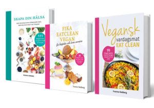 Kokböcker av Yvonne Hedberg, Vegansk vardagsmat eat clean.