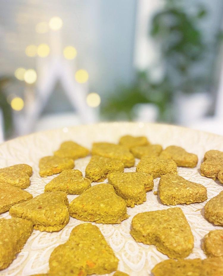 Hemmagjort hundgodis dogtreats glutenfri vegan