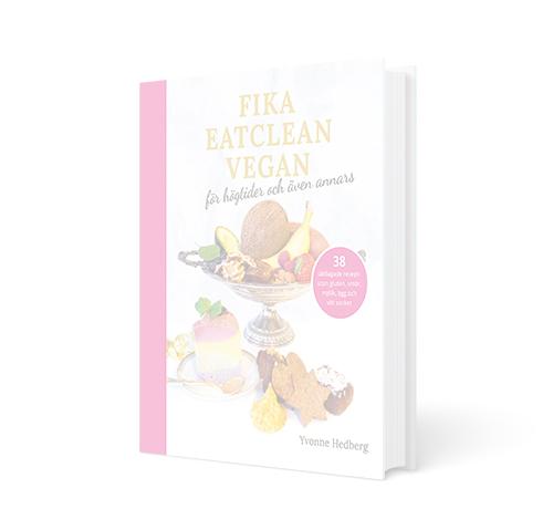 Kakboken Fika eatclean vegan visas i opacity pga att den är slutsåld som fysisk bok.