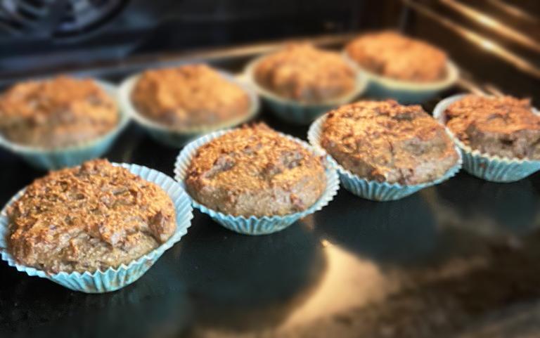 rödbets lakrits muffins glutenfri vegan