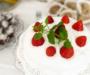 Vegansk, sockerfri och glutenfri jordgubbstårta – supergod